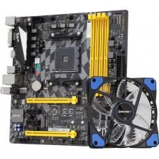 Placa Mãe Biostar Racing B350GTX, Chipset B350, AMD AM4, DDR4