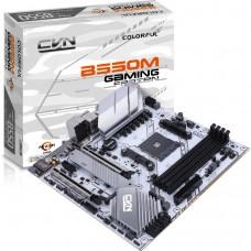 Placa Mãe Colorful CVN B550M GAMING FROZEN V14, Chipset B550, AMD AM4, mAXT, DDR4