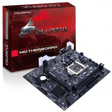 Placa Mãe Colorful H310M-E PRO V20, Chipset H310, Intel LGA 1151, mATX, DDR4