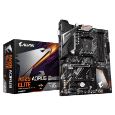 Placa Mãe Gigabyte A520 AORUS Elite, Chipset A520, AMD AM4, ATX, DDR4