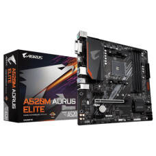 Placa Mãe Gigabyte A520M AORUS Elite, Chipset A520, AMD AM4, mATX, DDR4