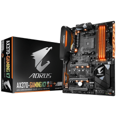 Placa Mãe Gigabyte AORUS GA-AX370-Gaming K7, Chipset X370, AMD AM4, ATX, DDR4