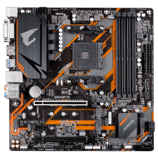 Placa Mãe Gigabyte B450M AORUS ELITE, Chipset B450, AMD AM4, mATX, DDR4, 9MB45MAET-00-10