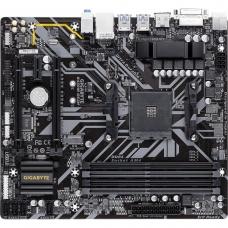 Placa Mãe Gigabyte B450M DS3H, Chipset B450, AMD AM4, mATX, DDR4