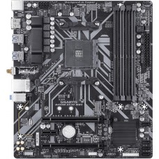 Placa Mãe Gigabyte B450M DS3H WIFI, Chipset B450, AMD AM4, mATX, DDR4