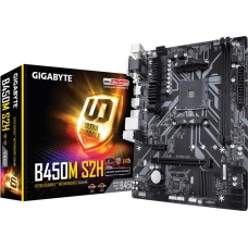 Placa Mãe Gigabyte B450M S2H, Chipset B450, AMD AM4, mATX, DDR4