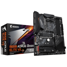 Placa Mãe Gigabyte B550 AORUS Elite V2, Chipset B550, AMD AM4, ATX, DDR4