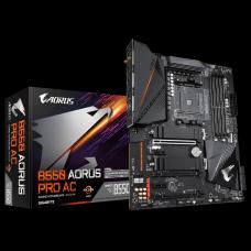 Placa Mãe Gigabyte B550 AORUS PRO AC, Chipset B550, AMD AM4, ATX, DDR4, B550 AORUS PRO AC