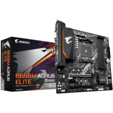 Placa Mãe Gigabyte B550M AORUS Elite, Chipset B550, AMD AM4, mATX, DDR4