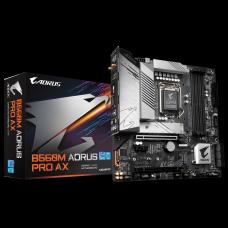 Placa Mãe Gigabyte B560M Aorus Pro AX, Chipset B560, Intel LGA 1200, mATX, DDR4