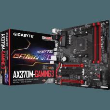 Placa Mãe Gigabyte GA-AX370M-Gaming 3, Chipset X370, AMD AM4, mATX, DDR4
