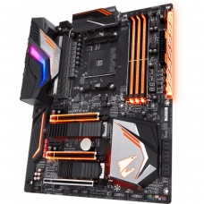Placa Mãe Gigabyte X470 AORUS GAMING 7 WIFI, Chipset X470, AMD AM4, ATX, DDR4