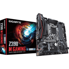 Placa Mãe Gigabyte Z390 M GAMING, Chipset Z390, Intel LGA 1151, mATX, DDR4