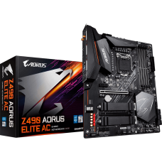 Placa Mãe Gigabyte Z490 Aorus Elite AC, Chipset Z490, Intel LGA 1200, Wi-Fi, ATX, DDR4