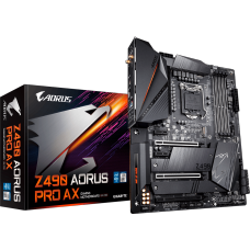 Placa Mãe Gigabyte Z490 Aorus Pro AX, Chipset Z490, Intel LGA 1200, Wi-Fi, ATX, DDR4