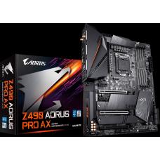 Placa Mãe Gigabyte Z490 Aorus Pro AX 1.1, Chipset Z490, Intel LGA 1200, Wi-Fi, ATX, DDR4