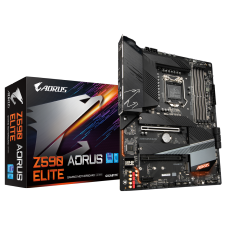 Placa Mãe GIGABYTE Z590 AORUS ELITE, Intel Z590 Express Chipset, Socket 1200, ATX, DDR4