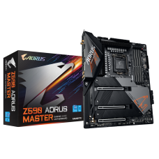 Placa Mãe GIGABYTE Z590 AORUS MASTER (rev. 1.0), Intel Z590 Express Chipset, Socket 1200, ATX, DDR4