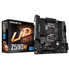 Placa Mãe GIGABYTE Z590M (rev. 1.0), Intel Z590 Express Chipset, Socket 1200, Micro ATX, DDR4