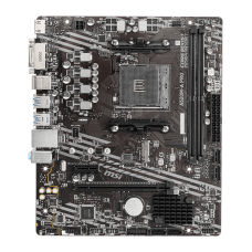 Placa Mãe MSI A520M-A PRO. Chipset A520, AMD AM4, mATX, DDR4, 911-7C96-002