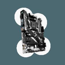 Placa Mãe MSI B350 Krait Gaming, Chipset B350, AMD AM4, ATX, DDR4