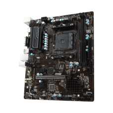 Placa Mãe MSI B350M PRO-VH PLUS, Chipset B350, AMD AM4, ATX, DDR4