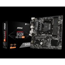 Placa Mãe MSI B450M PRO-M2 MAX, Chipset B450, AMD AM4, mATX, DDR4, 911-7B84-027