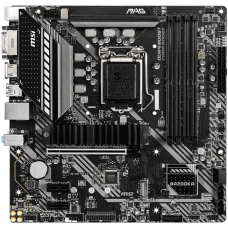 Placa Mãe MSI B460M BAZOOKA, Chipset B460M, INTEL LGA 1200, mATX, DDR4