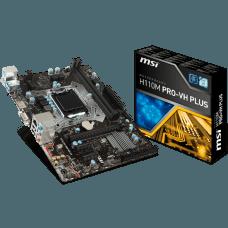 Placa Mãe MSI H110M PRO-VH PLUS, Chipset H110, Intel LGA 1151, mATX, DDR4 - Open Box