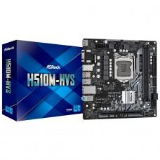 Placa Mãe ASRock H510M-HVS, Chipset Intel H510, LGA 1200, ATX, DDR4, 90-MXBG30-A0UAYZ
