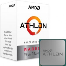 Processador AMD Athlon 3000G 3.5GHz, 2-Core, 4-Thread, 4Mb Cache, AM4, YD3000C6FHBOX