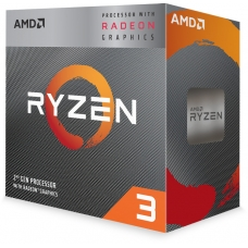Processador AMD Ryzen 3 3200G 3.6GHz (4.0GHz Turbo), 4-Cores 4-Threads, Cooler Wraith Stealth, AM4