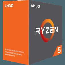 Processador AMD Ryzen 5 1600X 3.6GHz (4.0GHz Turbo), 6-Core 12-Thread, S/Cooler, AM4, YD160XBCAEWOF, S/ Video