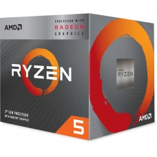 Processador AMD Ryzen 5 3400G 3.7GHz (4.2GHz Turbo), 4-Cores 8-Threads, Cooler Wraith Stealth, AM4