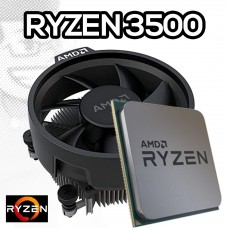 Processador AMD Ryzen 5 3500 3.6GHz (4.1GHz Turbo), 6-Core 6-Thread, Cooler Wraith Stealth, AM4, S/ Video, 100-100000050MPK