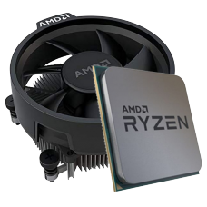 Processador AMD Ryzen 5 3600 3.6GHz (4.2GHz Turbo), 6-Cores 12-Threads, Cooler Wraith Stealth, AM4, 100-10000031MPK, S/ Video