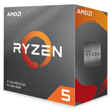 Processador AMD Ryzen 5 3600XT 3.8ghz (4.5ghz Turbo), 6-cores 12-threads, Cooler Wraith Spire, AM4, S/ Video, 100-100000281BOX