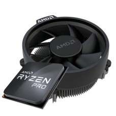 Processador AMD Ryzen 5 PRO 4650G 3.7GHz (4.2GHz Turbo), 6-Cores 12-Threads, AM4, Cooler Wraith Stealth, Com Vídeo Integrado, 100-100000143MPK