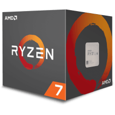 Processador AMD Ryzen 7 2700 3.2GHz / 4.1GHz Max Turbo YD2700BBAFBOX Octa Core 16MB Cooler Wraith Spire com LED, S/ Video