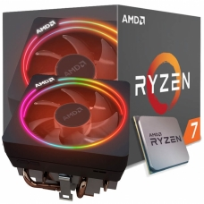 Processador AMD Ryzen 7 2700X 3.7GHz (4.35GHz Turbo), 8-Cores 16-Threads, Cooler Wraith Prism RGB, AM4, YD270XBGAFBOX, S/ Video