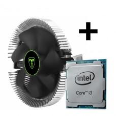 Processador Intel Core i3 10100 3.6GHz + Cooler T-Dagger Viti