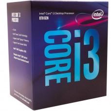 Processador Intel Core i3 9100 3.6GHz (4.2GHz Turbo), 9ª Geração, 4-Core 4-Thread, LGA 1151, BX80684I39100