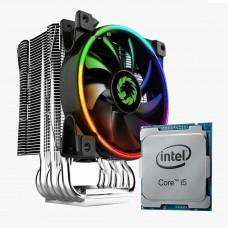 Processador Intel Core i5 10400F 2.90GHz + Cooler Gamemax Gamma 500