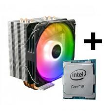 Processador Intel Core i5 11400 4.4GHz + Cooler Gamdias Boreas E1-410