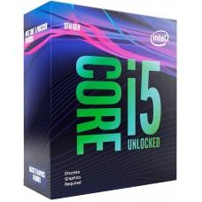 Processador Intel Core i5 9600KF 3.70GHz (4.60GHz Turbo), 9ª Geração, 6-Cores 6-Threads, LGA 1151, BX80684I59600KF, S/VÍDEO