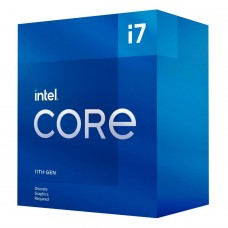 Processador Intel Core i7 11700F 2.5GHz (4.9GHz Turbo), 11ª Geração, 8-Cores 16-Threads, LGA 1200, BX8070811700F