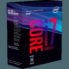 Processador Intel Core i7 8700K 3.70GHz (4.7GHz Turbo), 8ª Geração, 6-Core 12-Thread, LGA 1151, BX80684I78700K
