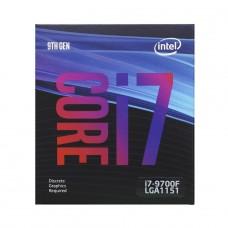Processador Intel Core i7 9700F 3.00GHz (4.70GHz Turbo), 9ª Geração, 8-Core 8-Thread, LGA 1151, BX80684i79700F, S/Vídeo