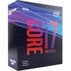 Processador Intel Core i7 9700KF 3.60GHz (4.90GHz Max Turbo), 9ª Geração, 8-Core 8-Thread, LGA 1151, BX80684I79700KF, S/VÍDEO