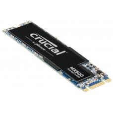 SSD Crucial MX500 500GB, M.2 2280, Leitura 560MBs Gravação 510MBs, CT500MX500SSD4